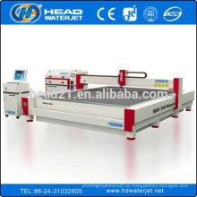 China fabricante internacional todos los tipos de máquinas máquina de corte de agua de chorro de mármol
