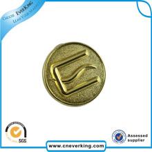 Distintivo do Pin de metal da venda direta do preço da fábrica para a memória