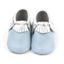 Blå mode Baby Moccasins Casual Shoes