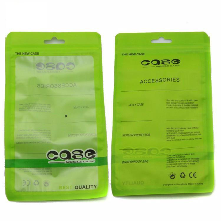 1000pcs 19 11cm Ziplock Retail Package Plastic Packaging Bag For Iphone 4s 5c 5s 6 6s Samsung Galaxy S3 S4 S5 S6 Cell Phone Case 1