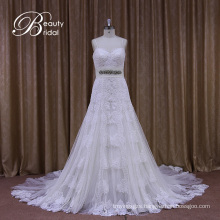 Spagetti Straps Sweetheart Fashionable Wedding Dress
