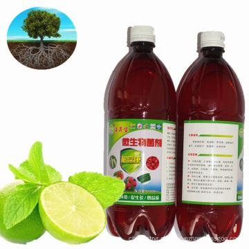 Fertilizante microbiano / fertilizante orgânico para crescimento do sistema radicular