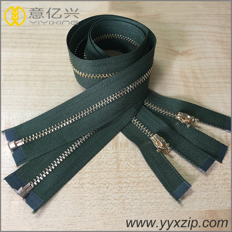 High Quality Metal Zipper for Garment