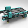 Machine de routeur de commande numérique par ordinateur fonctionnant en métal pour la vaisselle de cuisine