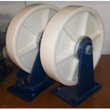 "12"" Nylon Caster Wheels (White)"