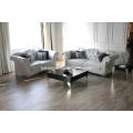 Sofa de tissu canapé en cuir blanc moderne de Neo-Antique (LS-1109A & B & C)