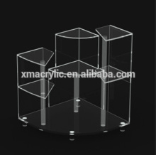 acrylic ornaments display rack, plexiglass goods shelf, PMMA documents rack