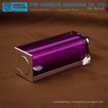 ZB-PK15 15ml gros luxe et bonne qualité belle violet couleur flacon airless