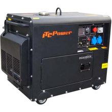 5kw poder silencioso do gerador diesel