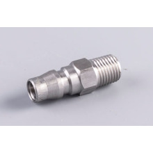 "3/8 ""benang pria Stainless Nitto Type Quick Coupler Plug"