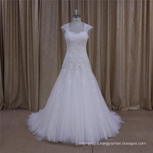 Customized Slim A-Line Bridal Gowns