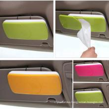 Custom Popular Fashion ABS Practical Plastic Car Tissue Box