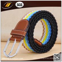Manufactura de colores cinturones elásticos para dama
