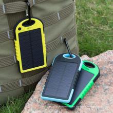 Cargador solar del banco del poder del teléfono móvil de la batería de la fábrica ISO9001