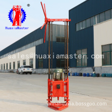Economy type portable two phase electric sampling drilling rig