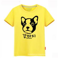 100% Algodão Personalizado Seu Próprio Logotipo Atacado Moda Masculina Camiseta