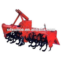 Rotary hoe for farm tractor