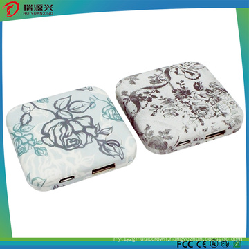 Mini Square Portable Power Bank 2000mAh with Customized Logo