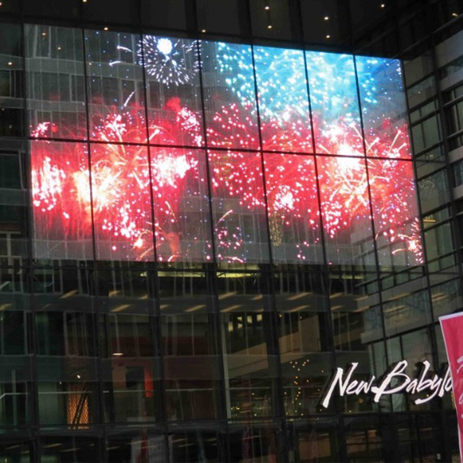 transparent led displays
