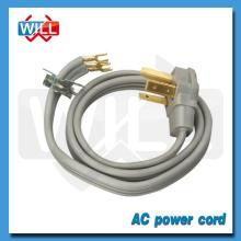 América Canadá 50A 125V / 250V Cable de alimentación NEMA 10-50P con SRDT