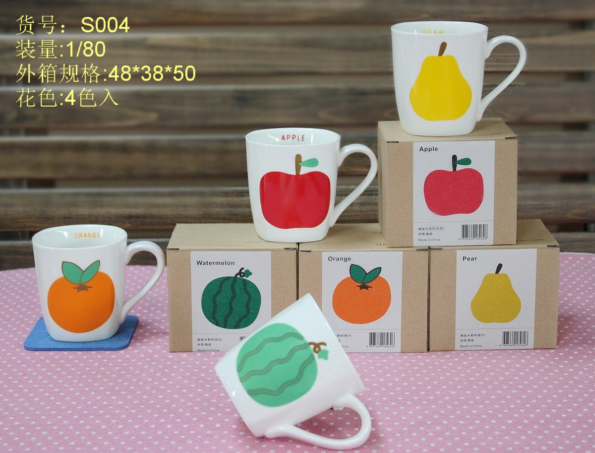 Lovely Fruit Ceramic Coffee Mug
