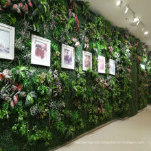 New generation customized foliage vertical green wall for mall decoration