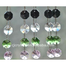 Vente en gros Crystal Octagon Beaded Chains
