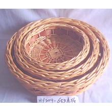 (BC-ST1034) Cesta Handmade Natural do armazenamento do Rattan