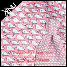 Tela italiana al por mayor de la corbata de la tela cruzada de la impresión de la seda los 18MM
