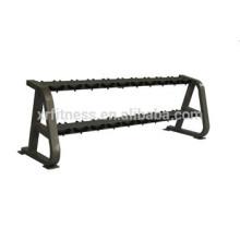 Importation de l'équipement de fitness Dumbert rack