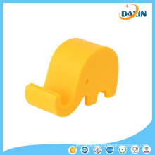 2PCS Free Shipping Elephant Shaped Silicone Cell Phone Holder (Random color)