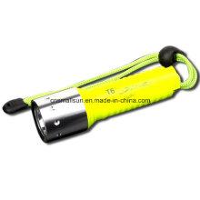 1X18650 Batt Single Mode Screw Switch T100 Diving Flashlight