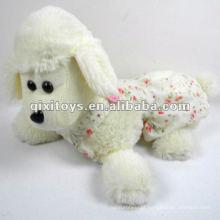 belo grande brinquedo de ovelha recheado e pelúcia com roupas