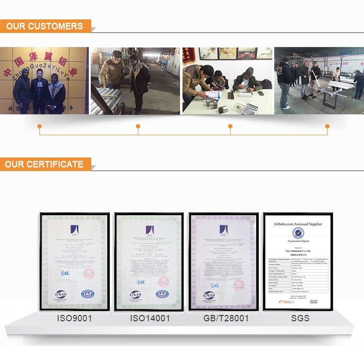 Aluminum Profile Certificate