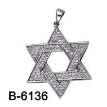 Fábrica al por mayor nuevo diseño moda joyería colgante de plata 925