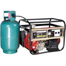 СНГ / Газовый генератор мощностью 4 кВт (HH6500-LPG)
