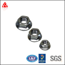 Stainless steel hex flange nut