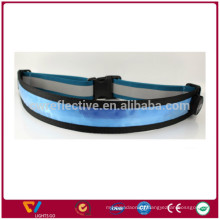 glow in the dark New style LED sports running reflective waist belt band