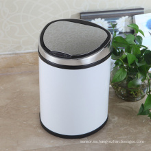 Blanco de estilo Creative Aotomatic bin de basura del sensor para el hogar (D-12LD)