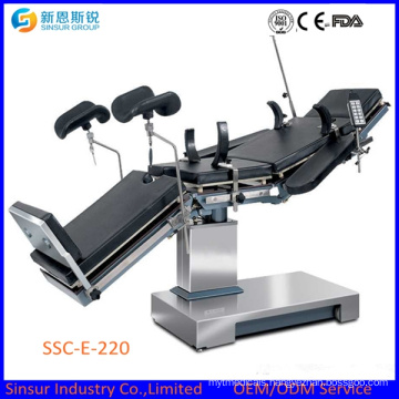 Hospital X-ray Surgical Equipment Electric Operating Theater Tables