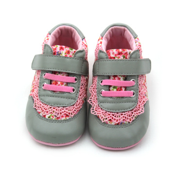Hot Sale Floral Print Girls Cotton Cotton Shoes