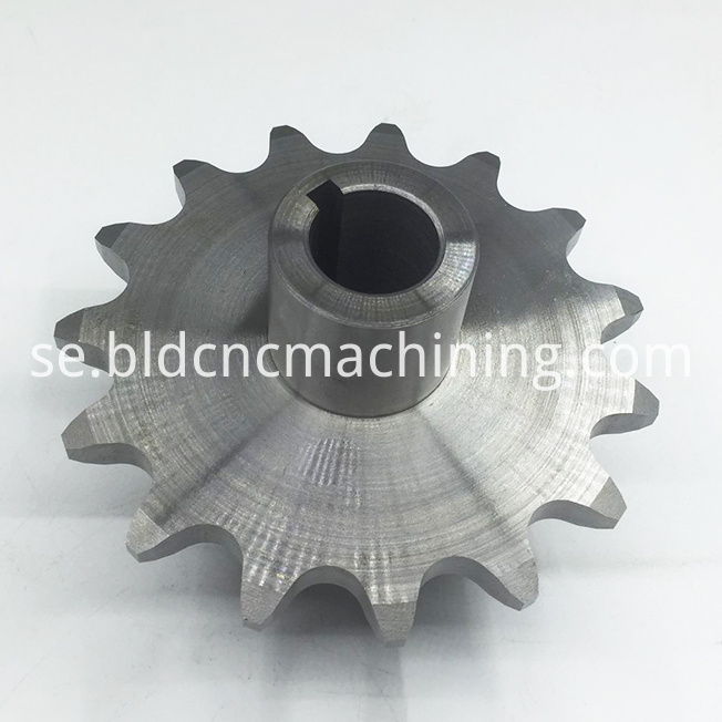 machining steel gear