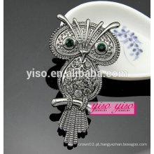 Mais recente moda design broche broche de corujas