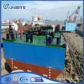 Marine float pontoons for dredging construction