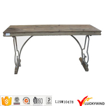 Countryside Retro Wood Vintage Trestle Table