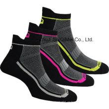 China fábrica alta calidad hombres personalizados Coolmax deporte calcetines