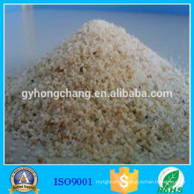 Efficient acid-washed quartz sand filter material