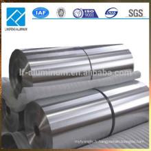 Feuillet en aluminium pour sacs d'emballage sous vide