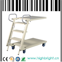 Supermarket Platform Step Ladder Truck Cart
