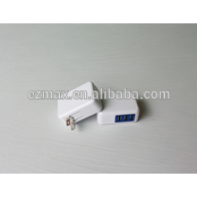 MINI 3USB CHARGER (FOLDING) para móviles, US EUR AU UK TW JP opción